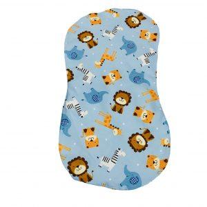 Zoo Animals Baby Burp Cloth
